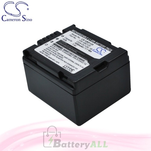 CS Battery for Panasonic DZ-MV350 / DZ-MV350A / DZ-MV350E Battery 1050mah CA-VBD120