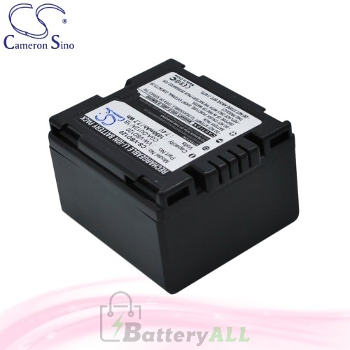 CS Battery for Panasonic DZ-MV380 / DZ-MV380A / DZ-MV380E Battery 1050mah CA-VBD120