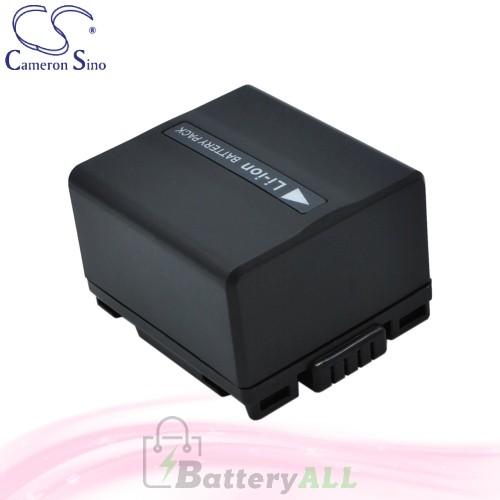 CS Battery for Panasonic DZ-MV550 / DZ-MV550A / DZ-MV550E Battery 1050mah CA-VBD120