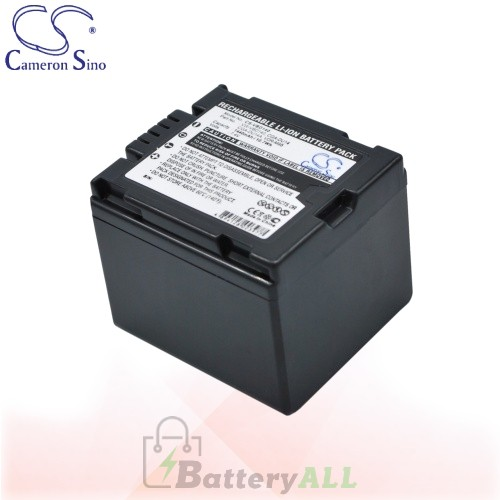 CS Battery for Panasonic NV-GS300EB-S / NV-GS300EG-S Battery 1440mah CA-VBD140