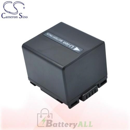 CS Battery for Panasonic NV-GS37EB-S / NV-GS37EG-S / NV-GS60 Battery 1440mah CA-VBD140
