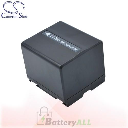 CS Battery for Panasonic NV-GS37 / NV-GS40 / NV-GS400K Battery 1440mah CA-VBD140