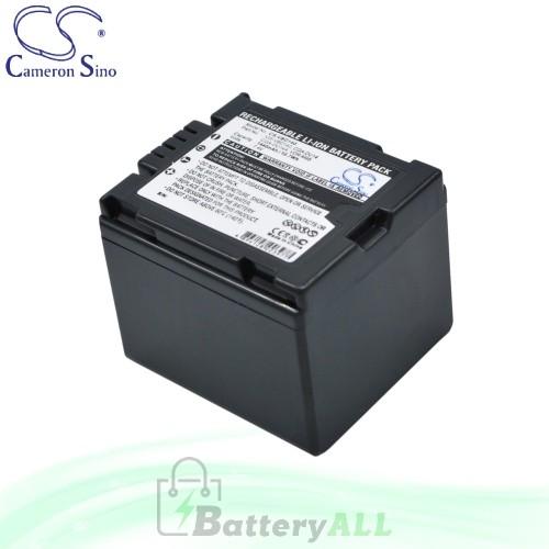 CS Battery for Panasonic NV-GS500 / NV-GS55K / NV-GS60EB-S Battery 1440mah CA-VBD140