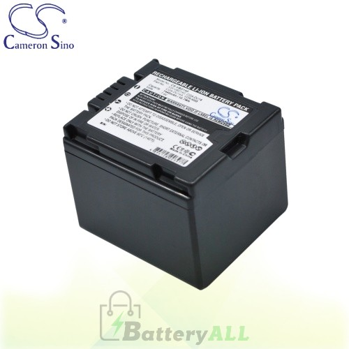 CS Battery for Panasonic PV-GS50 / PV-GS500 / PV-GS50S Battery 1440mah CA-VBD140