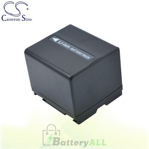 CS Battery for Panasonic SDR-H20 / SDR-H200 / SDR-H20EB-S Battery 1440mah CA-VBD140