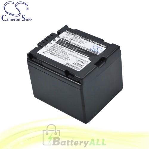 CS Battery for Panasonic VDR-D150EB-S / VDR-D150EF-S Battery 1440mah CA-VBD140
