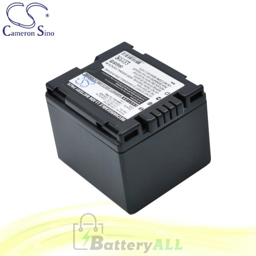 CS Battery for Panasonic VDR-D150EG-S / VDR-D158GK Battery 1440mah CA-VBD140