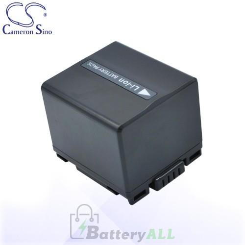 CS Battery for Panasonic NV-GS120K / NV-GS150 / NV-GS17EF-S Battery 1440mah CA-VBD140