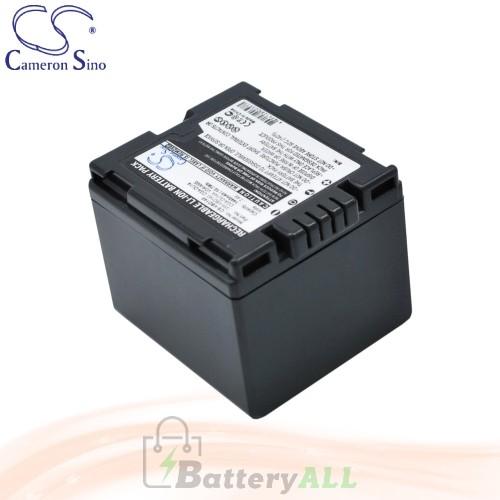 CS Battery for Panasonic VDR-D308GK / VDR-D400 / VDR-M50PP Battery 1440mah CA-VBD140