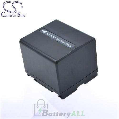 CS Battery for Panasonic NV-GS180EB-S / NV-GS180EG-S Battery 1440mah CA-VBD140