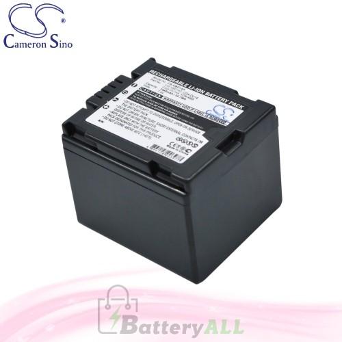 CS Battery for Panasonic NV-GS230EB-S / NV-GS27EB-S Battery 1440mah CA-VBD140