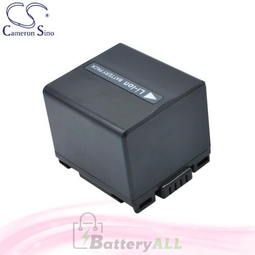 CS Battery for Panasonic NV-GS27EF-S / NV-GS27EG-S / NV-GS50 Battery 1440mah CA-VBD140