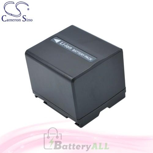 CS Battery for Panasonic NV-GS280EB-S / NV-GS280EG-S Battery 1440mah CA-VBD140
