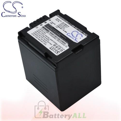 CS Battery for Panasonic NV-GS300EB-S / NV-GS300EG-S Battery 2160mah CA-VBD210
