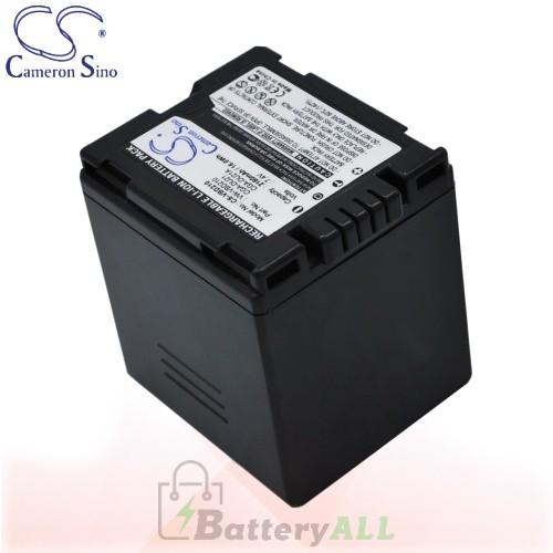 CS Battery for Panasonic NV-GS320EB-S / NV-GS320EG-S Battery 2160mah CA-VBD210