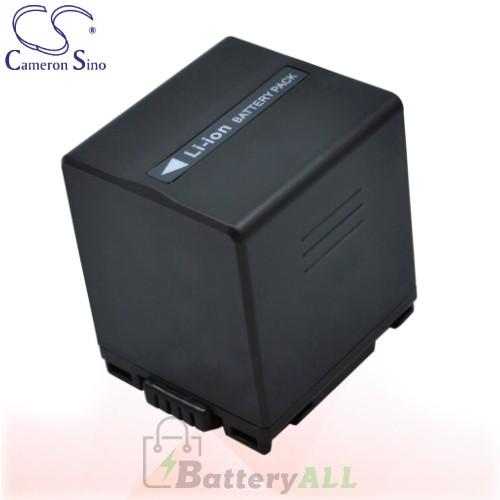 CS Battery for Panasonic NV-GS500EG-S / NV-GS55K / NV-GS60 Battery 2160mah CA-VBD210