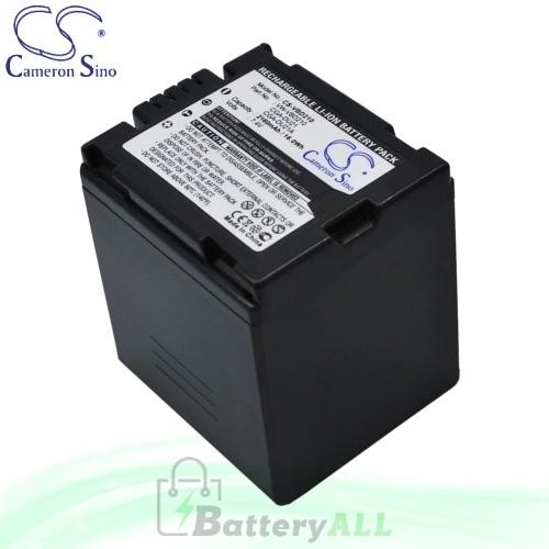 CS Battery for Panasonic PV-GS31 / PV-GS35 / VDR-D400 Battery 2160mah CA-VBD210