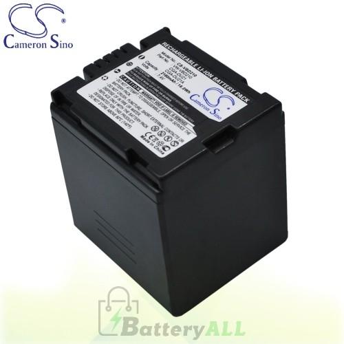 CS Battery for Panasonic SDR-H200 / VDR-D100 / VDR-D100EB-S Battery 2160mah CA-VBD210