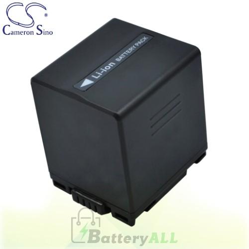 CS Battery for Panasonic VDR-D150EF-S / PV-GS180 / VDR-M53 Battery 2160mah CA-VBD210