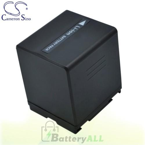 CS Battery for Panasonic VDR-D158GK / VDR-D210 / VDR-D230 Battery 2160mah CA-VBD210