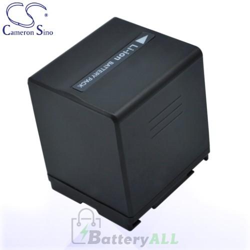 CS Battery for Panasonic NV-GS37 / NV-GS37EB-S / NV-GS37EG-S Battery 2160mah CA-VBD210