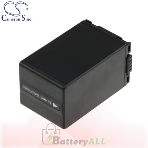 CS Battery for Panasonic NV-GS500EB-S / NV-GS500EG-S Battery 3100mah CA-VBD310