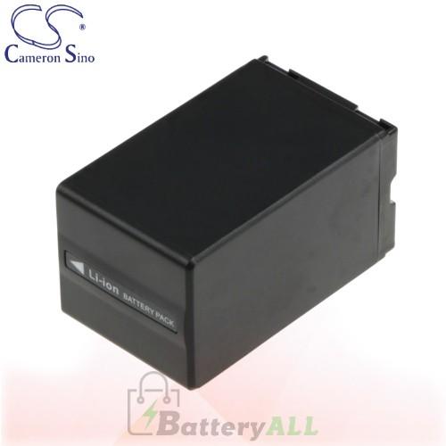 CS Battery for Panasonic NV-GS55K / NV-GS60 / NV-GS60EB-S Battery 3100mah CA-VBD310