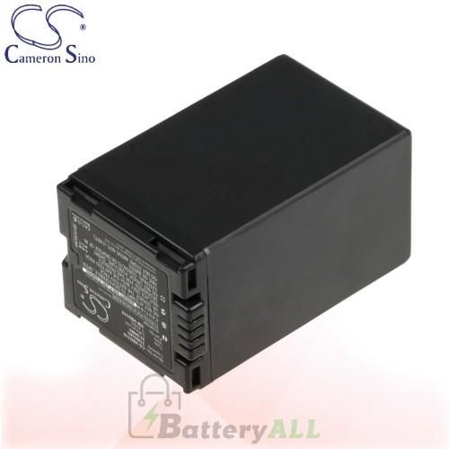 CS Battery for Panasonic NV-GS70 / NV-GS85 / VDR-D150EG-S Battery 3100mah CA-VBD310