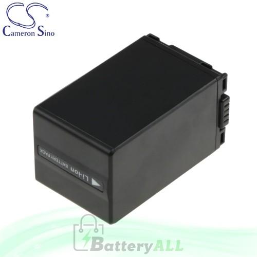 CS Battery for Panasonic PV-GS59 / PV-GS65 / PV-GS80 Battery 3100mah CA-VBD310