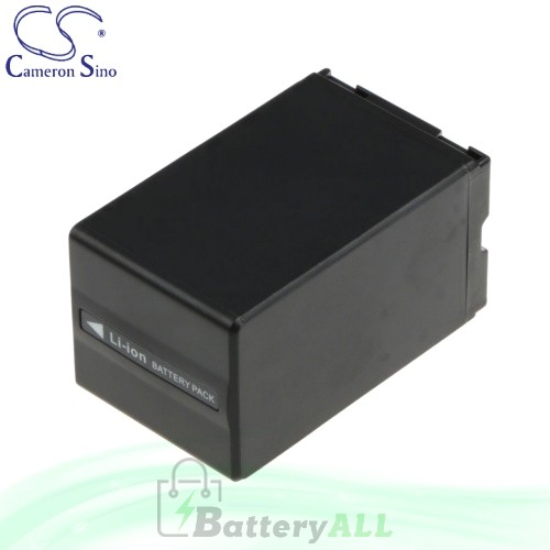 CS Battery for Panasonic PV-GS85 / PV-GS180 / PV-GS300 Battery 3100mah CA-VBD310