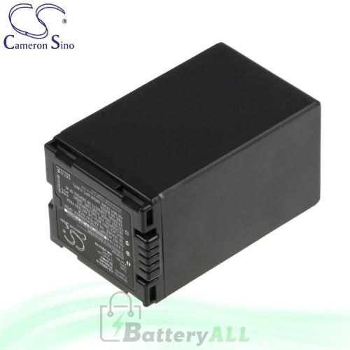 CS Battery for Panasonic PV-GS320 / PV-GS500 / SDR-H200 Battery 3100mah CA-VBD310