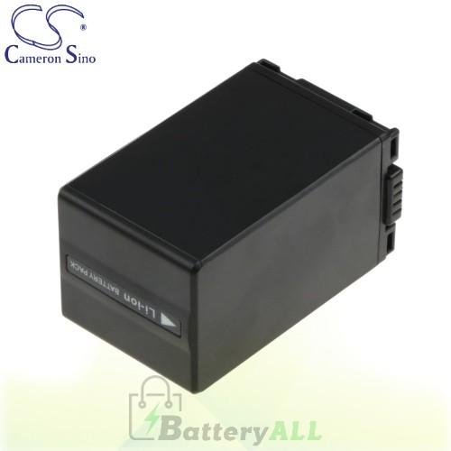 CS Battery for Panasonic VDR-D150EB-S / VDR-D150EF-S Battery 3100mah CA-VBD310