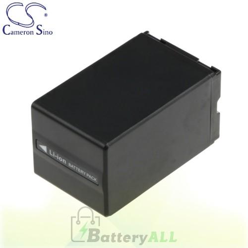 CS Battery for Panasonic VDR-D158GK / VDR-D200 / VDR-D258GK Battery 3100mah CA-VBD310
