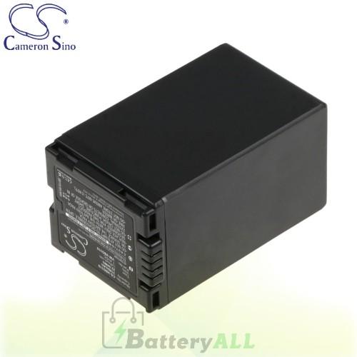 CS Battery for Panasonic VDR-D250 / VDR-D230 / VDR-D250EB-S Battery 3100mah CA-VBD310