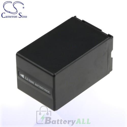CS Battery for Panasonic NV-GS27EF-S / NV-GS27EG-S Battery 3100mah CA-VBD310