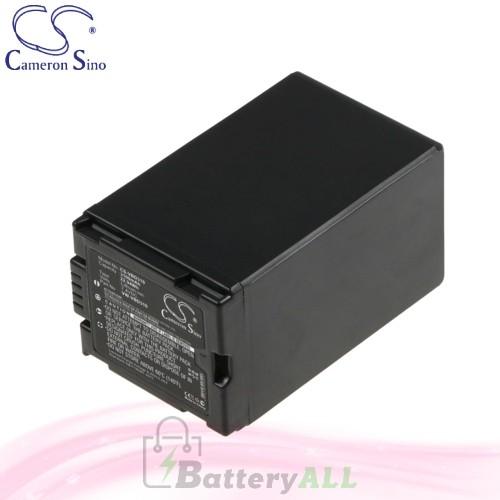 CS Battery for Panasonic NV-GS180EB-S / NV-GS180EG-S Battery 3100mah CA-VBD310