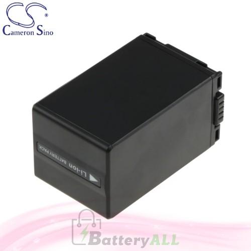 CS Battery for Panasonic NV-GS200K / NV-GS230 / NV-GS230EB-S Battery 3100mah CA-VBD310