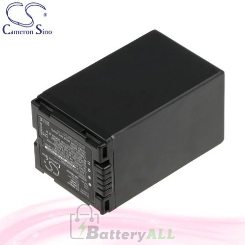CS Battery for Panasonic NV-GS280EG-S / NV-GS320EB-S Battery 3100mah CA-VBD310