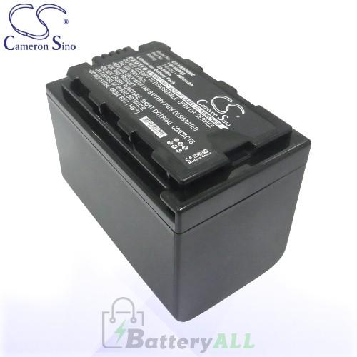 CS Battery for Panasonic VW-VBD29 / VW-VBD58 / VW-VBD58E-K Battery 4400mah CA-VBD58MC