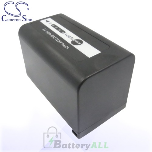 CS Battery for Panasonic HC-MDH2GK-K / HC-MDH2 / HDC-MDH2GK Battery 4400mah CA-VBD58MC