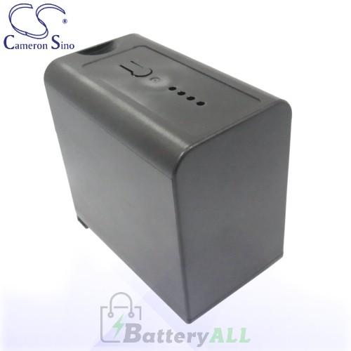 CS Battery for Panasonic HC-MDH2GK-K / HC-MDH2 / HDC-MDH2GK Battery 6600mah CA-VBD78MC
