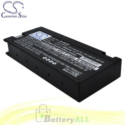 CS Battery for Panasonic PV604D / PV605 / PV605S /PV615 Battery 1800mah CA-VBF2E