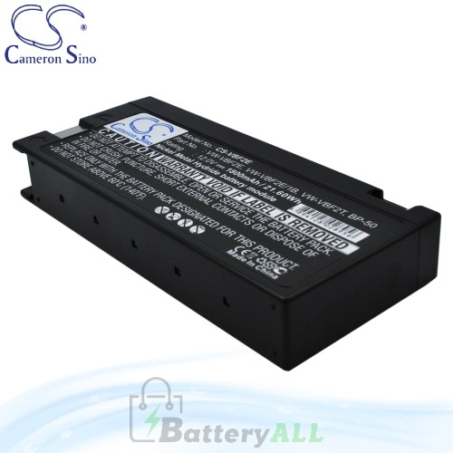 CS Battery for Panasonic PV950 / PV950A / PV950B / PV950D Battery 1800mah CA-VBF2E