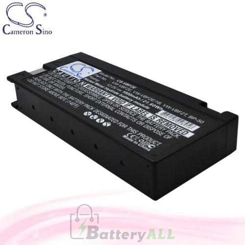 CS Battery for Panasonic VW-VBM10 / VW-VBM7E / AG195MUP Battery 1800mah CA-VBF2E