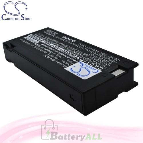 CS Battery for Panasonic AG185 / AG186 / AG187 / AG188 Battery 1800mah CA-VBF2E