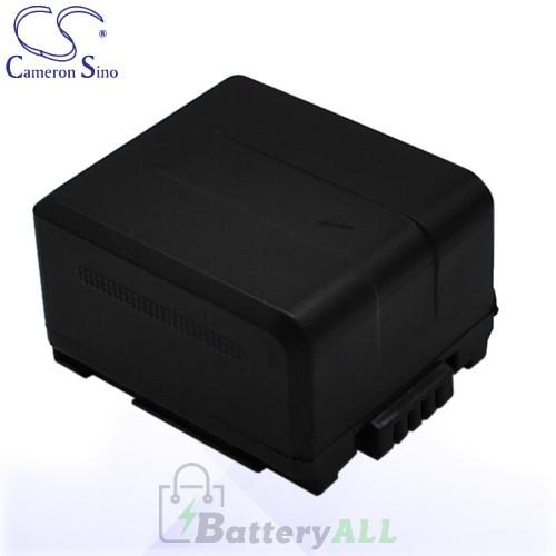 CS Battery for Panasonic HDC-SD100 / HDC-SD600 / HDC-SD700 Battery 750mah CA-VBG070