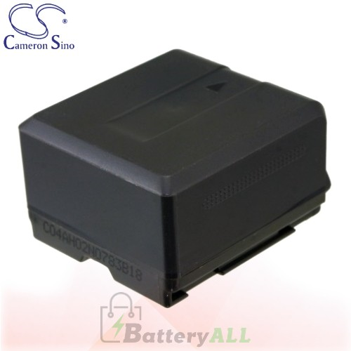 CS Battery for Panasonic HDC-HS700K / HDC-HS9 / HDC-MDH1GK Battery 1320mah CA-VBG130