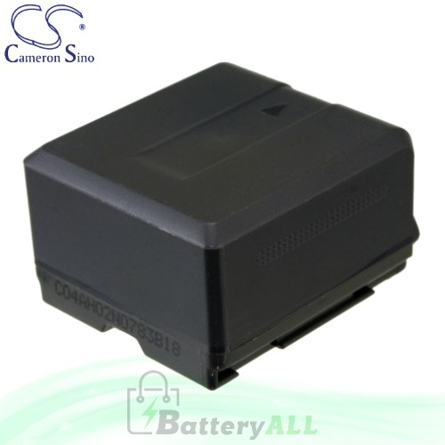 CS Battery for Panasonic HDC-SD100 / HDC-SD200 / HDC-SD300 Battery 1320mah CA-VBG130