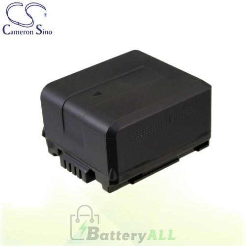 CS Battery for Panasonic HDC-SX5GCS-S / HDC-TM10 / HDC-TM300 Battery 1320mah CA-VBG130