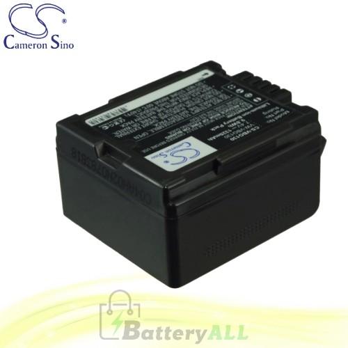 CS Battery for Panasonic HDC-TM20 / HDC-TM20K / HDC-TM20K8 Battery 1320mah CA-VBG130